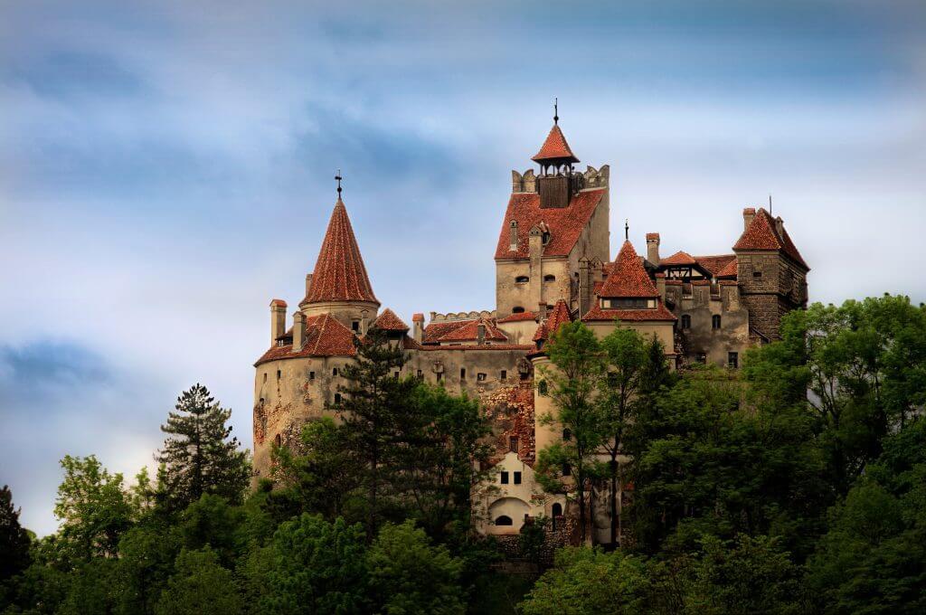 טירת בראן ברומניה - הטירה של דרקולה